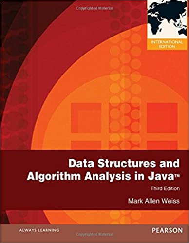 Data Structures and Algorithm Analysis in Java. Mark Allen Weiss