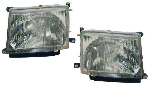 Toyota Tacoma Replacement Headlight Assembly - 1-Pair by AutoLightsBulbs