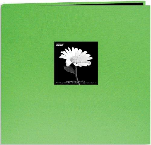 over Post Bound Album 8x8-Citrus Green ()