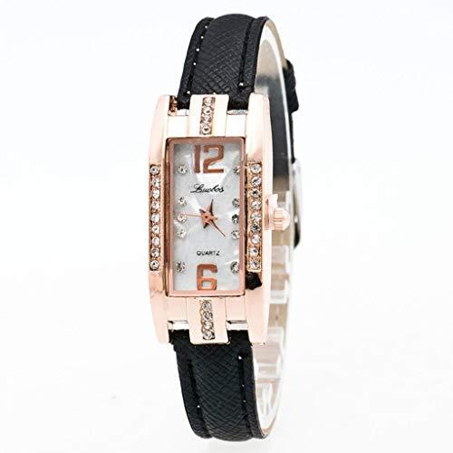 - AckfulFashion Women's Pointer Quartz Wrist Watch (Black)