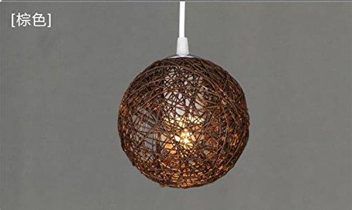 Kronleuchter Klein Vintage ~ Vintage rattan lampe kronleuchter kronleuchter nest kugel kreative