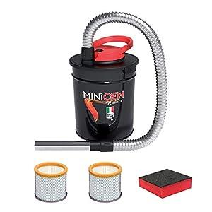 ASPIRACENERE ELETTRICO MINICEN 800 W - 10 L con doppio filtro e spugna 4 spesavip