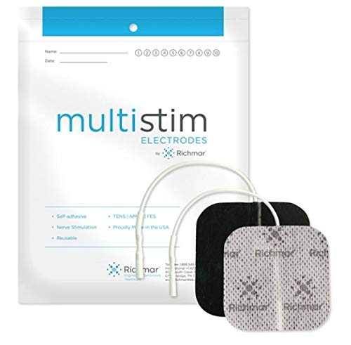 Richmar MultiStim Electrodes, Square, Cloth
