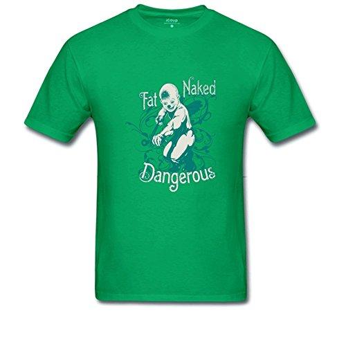 Dangerous Men's Beefy T Shirt XXL LightGreen ()