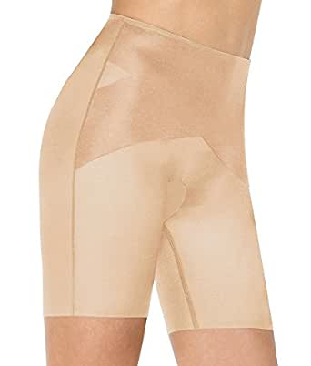 Spanx Skinny Britches Mid-Thigh 2125/2125P Nude - 1X