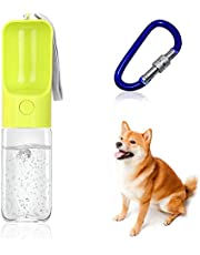 AIFUDA Portable Pet Water Bottle with Collapsible Dog Bowl, Pets Water Dispenser Drinking Feeder Foldable Feeding Watering Dish for Cats Dogs Outdoor Walking Hiking Travel