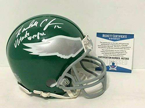 Randall Cunningham Signed Eagles TB Mini-Helmet