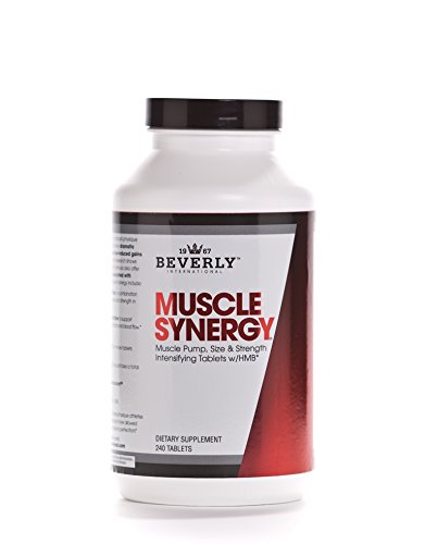 Beverly International Muscle Synergy Powder, 240 Tablets. Who Else Wants to Make Lean Muscle Gains Like You did in Your 20s?