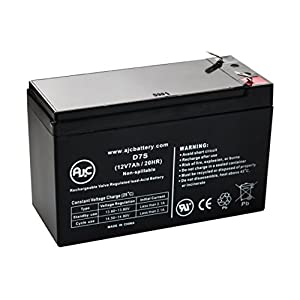 Leoch DJW12-7.0 Sealed Lead Acid - AGM - VRLA Battery - This is an AJC Brand Replacement