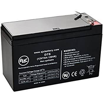 APC Back-UPS XS XS1000 (BX1000) 12V 7Ah UPS Battery - This is an AJC Brand Replacement