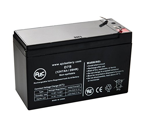 JohnLite CY-0112 12V 7Ah Spotlight Battery - This is an AJC Brand Replacement