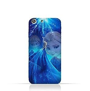 Sony Xperia M5 TPU Protective Silicone Case with Frozen Elsa Design