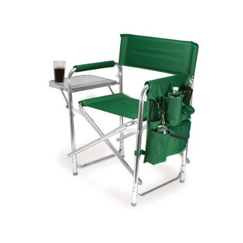Green Picnic Chair (Picnic Time Portable Folding 'Sports Chair', Hunter)