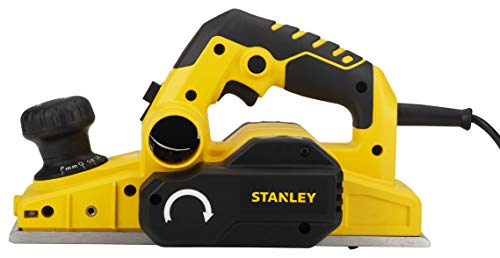 STANLEY STPP7502 750W 2mm Planer (Yellow and Black) with 2 TCT blades 2