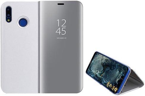 Funda® Espejo Enchapado Flip Xiaomi Redmi Note 5 Pro (Plata): Amazon.es: Electrónica
