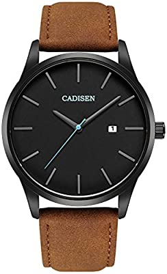 VOEONS Men's Analog Wrist Watch with Date - 30M Waterproof
