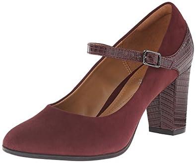 Amazon.com | Clarks Women's Bavette Cathy Dress Pump | Pumps