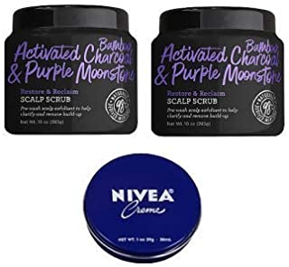 product image for Not Your Mother's 2 Pack Activated Bamboo Charcoal & Purple Moonstone Restore & Reclaim Scalp Scrub 10 Oz.+ Travel Size Body Cream 1 Oz.