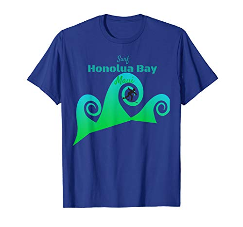 Surf Honolua Bay T-shirts Maui Beach Surfing Paradise
