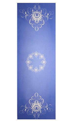 ASJ non-slip yoga towel (Blueviolet), fitness towel, yoga mat - safe, durable, beautiful, portable - birthday gifts, holiday gifts