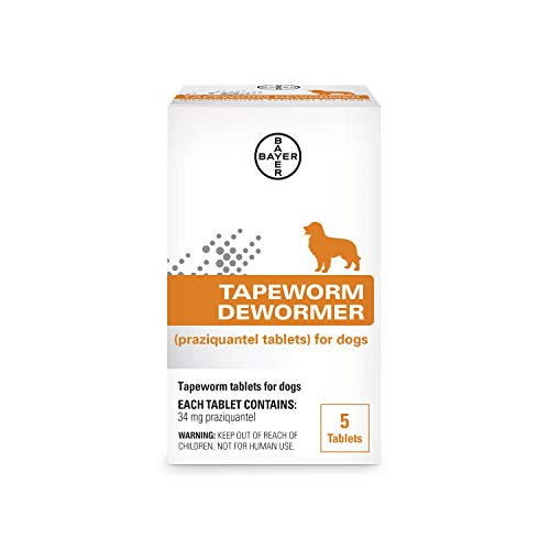 Bayer Tapeworm Dewormer for Dogs, 4 weeks and older
