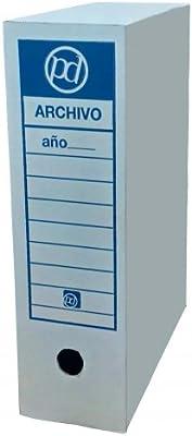 Caja archivo definitivo tamaño folio 350x255x100 mm (10 unidades): Amazon.es: Oficina y papelería