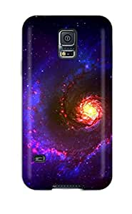 Galaxy S5 Hard Back With Bumper Silicone Gel Tpu Case Cover Galaxy