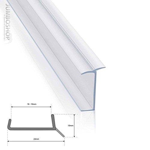 STEIGNER 18mm / 19mm Küchenleiste 1,5m Küchensockel DPD Abdichtungsprofil Sockel Dichtung erneuern Dichtprofil