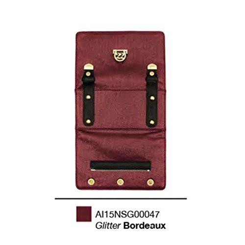 Numeroventidue - Bolso al hombro para hombre Bordeaux