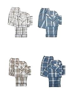Ten West apparel mens cotton yarn dyed short sleeve pajamas set