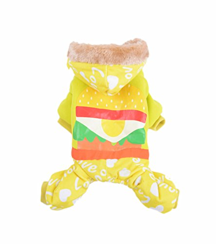 [Christmas Uniquorn Autumn And Winter Models Pet Clothes Cute Warm Cotton Clothes Dog Clothes Winter Essential] (Dorothy Wizard Of Oz Costume Pattern Free)