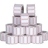 Etiqueta Para Preço, Papel Fosco, Uso Manual, Rolo Com 250 Etiquetas, Pacote Com 10 Rolos 24x12mm. Qualidade Grespan! Ótimo custo beneficio!