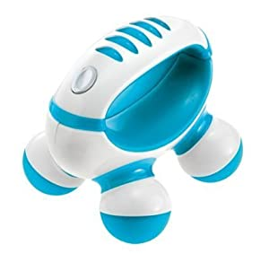 Homedics PM-50 Hand Held Mini Massager with Hand Grip, Battery Operated