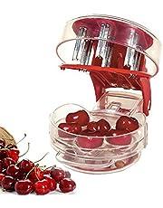 Kersenpitter gereedschap, olijfpitter gereedschap, kersenpitter, machine met kuilen en sapcontainer 6 kersen