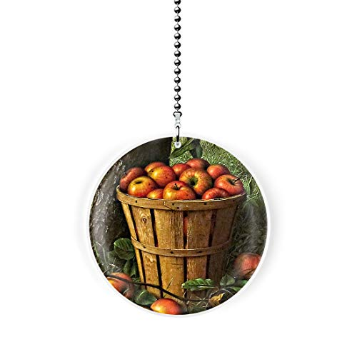 Gotham Decor Country Apple Basket Fan/Light Pull