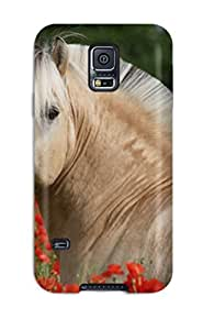 KqglJch8397PmcYp Case Cover Protector For Galaxy S5 Horse Pictures Case