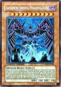Yu-Gi-Oh! - Earthbound Immortal Wiraqocha Rasca (CT06-EN004) - 2009 Collectors Tins - Limited Edition - Secret Rare ()