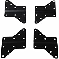 "Husky Mounts 4 Universal VESA Adapters up to 400X400 Extenders Flat Screen TV Wall mount Bracket Extensions allow 200x200 plate 8""x 8"" to reach VESA 400x400, 400x200, 300x300 up to 16x 16"