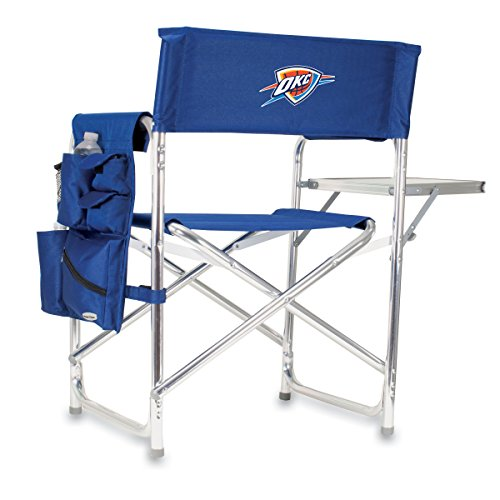 - NBA Oklahoma City Thunder Portable Folding Sports Chair