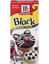 McCormick Black Food Color, 1 Fl. Oz (Pack of 1)