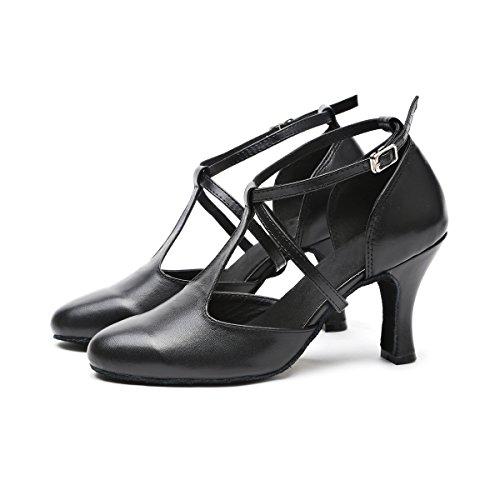 Minitoo Danse Salon 36 Black Femme Noir 5 de Heel EU 8cm xx4dwArPq