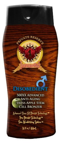 - Disobedient for Men Tanning Lotion