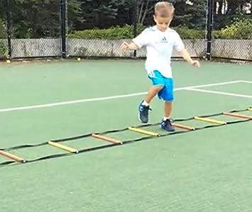 Los niños escalera ritmo escalera de cuerda escalera de agilidad ...