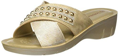 Zapatos dorados formales Inblu para mujer hgpnsbDPqg