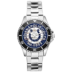 Gift for Indianapolis Colts NFL Football Fan Article Watch 6636