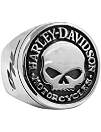 Amazoncom HarleyDavidson Rings Jewelry Clothing Shoes Jewelry