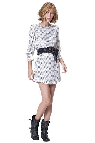 POETE Divina, Vestido para Mujer Black / White 022