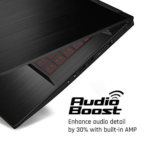 "MSI GF63 Thin 9SC-614 15.6"" Gaming Laptop, Intel Core i5-9300H, NVIDIA GTX 1650, 8GB, 512GB NVMe SSD, Win10"