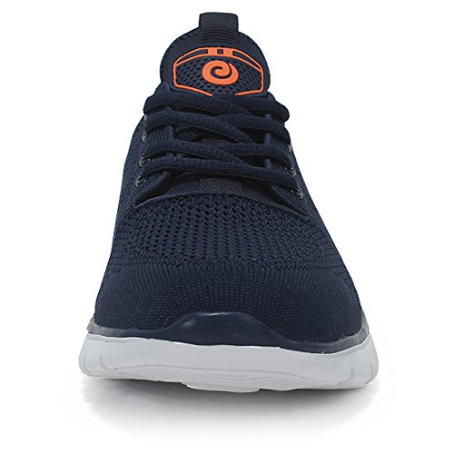 US Casual Super Walking 6 Lightweight D Darkblue M Easy Sneakers Running For Training Men Shoes 5 ZqBUtw