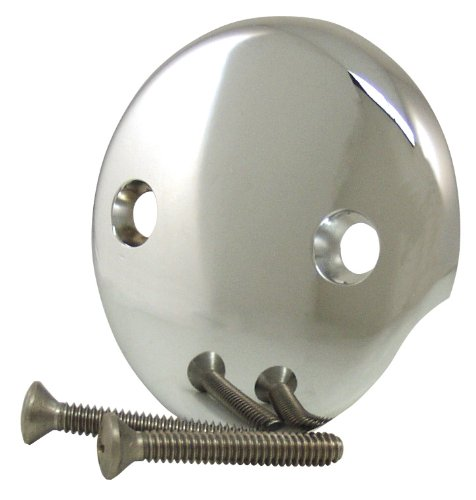 Plumb Craft 7659170 Bathtub Drain Overflow Face Plate (Faceplate Tub Overflow)